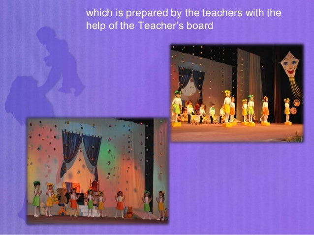 which is prepared by the teachers with the help of the Teacher's board
