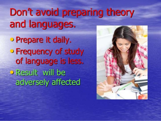 tips to do well in exam Exam writing tips: how to answer exam questions posted on may 7, 2015 by andrea leyden this is what it all comes down to you're sitting in the exam hall, waiting to get your hands on that anticipated piece of paper.
