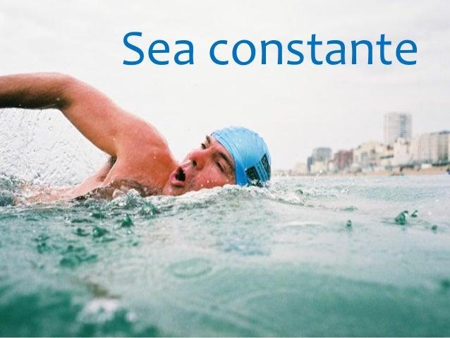 Sea constante