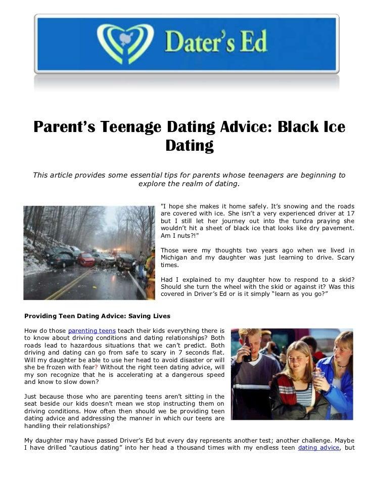 Teenage Dating tips
