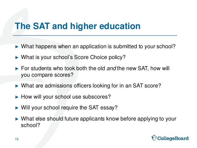 highest score on essay for sat Find out admissions requirements for penn state, including gpa requirements and sat, act, and application requirements the sat score from your single highest.