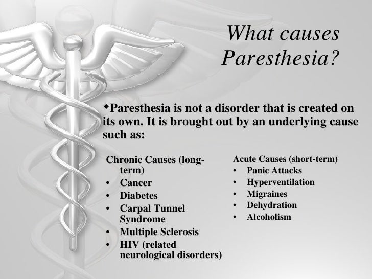Paresthesia Multiple Sclerosis