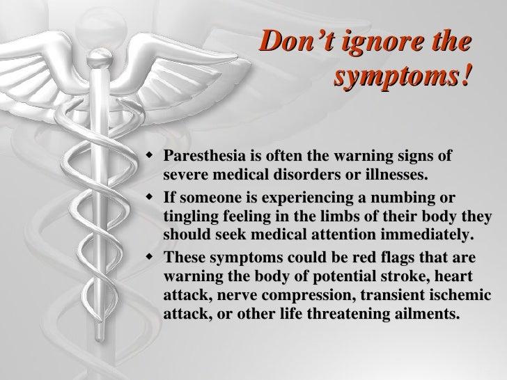 Paresthesia on Stroke Causes