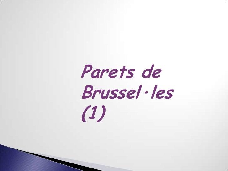 Parets deBrussel·les(1)