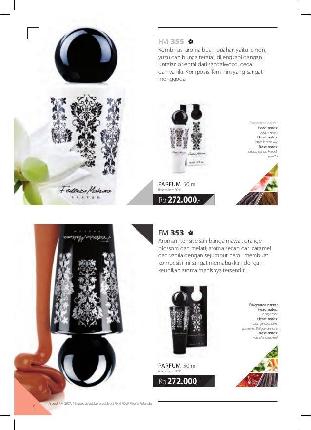 Katalog Fm Parfum By Federico Mahora 2014