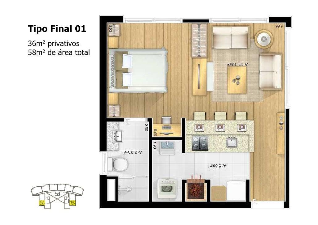 Parigi apartamentos 1 2 3 dormit rios lofts e duplex - Plantas para dormitorio ...