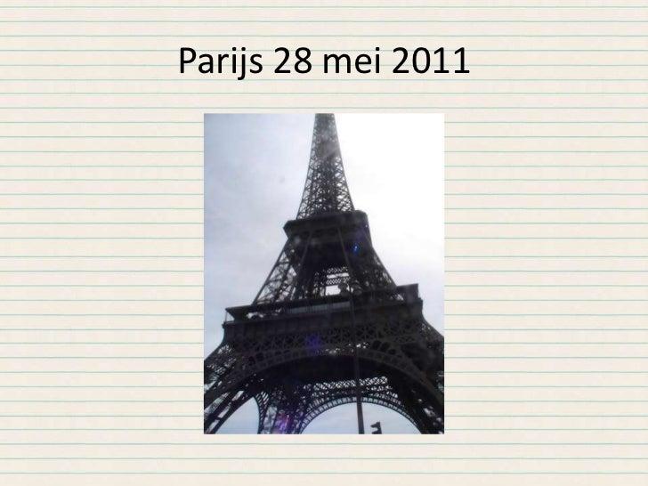 Parijs 28 mei 2011<br />