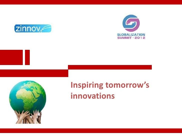 Inspiring tomorrow'sinnovations