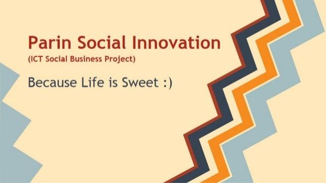 Parin Social Innovation Project