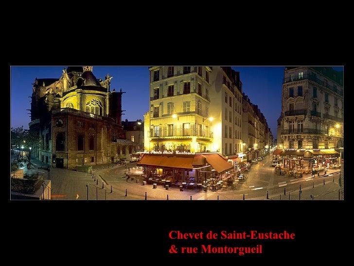 Chevet de Saint-Eustache & rue Montorgueil