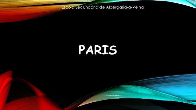 PARIS Escola Secundária de Albergaria-a-Velha