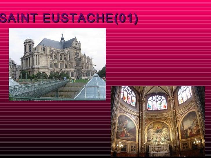Paris for Architecte st eustache