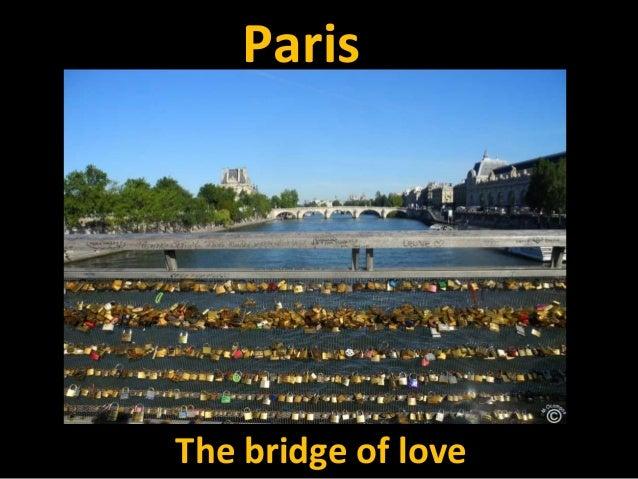 ParisThe bridge of love