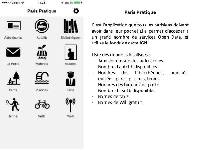 Paris Pratique C'est l'application que tous les parisiens doivent avoir dans leur poche! Elle permet d'accéder à un grand ...