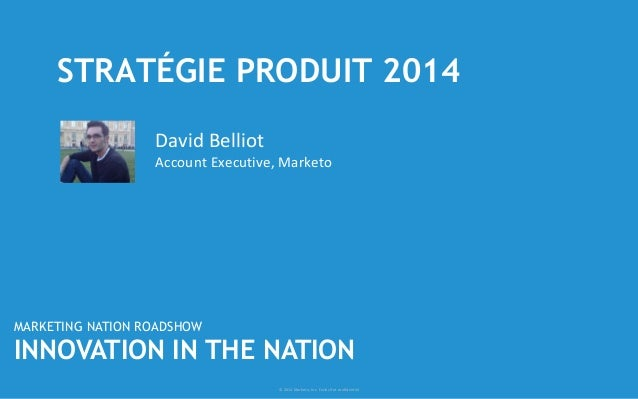 Stratégie Produit 2014