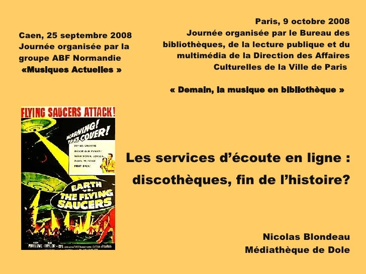 Paris, 9 octobre 2008 Journée organisée par le Bureau des bibliothèques, de la lecture publique et du multimédia de la Dir...