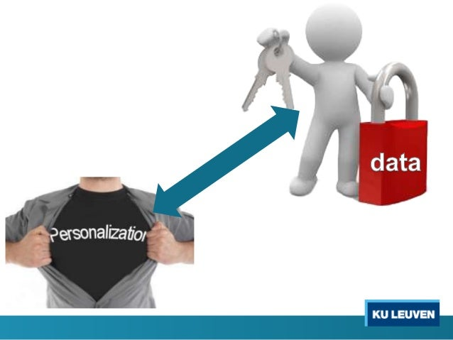 Advertiser: value presented by user data User: value realized through personalization What should we do toward such a trad...