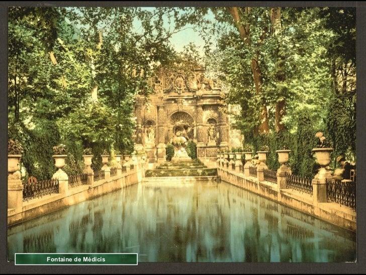 Fontaine de Médicis