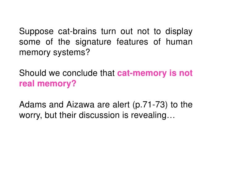 But in this passage 'like a normal humancognitive processor' already seems to mean'like  a    normal    human     in-the-h...
