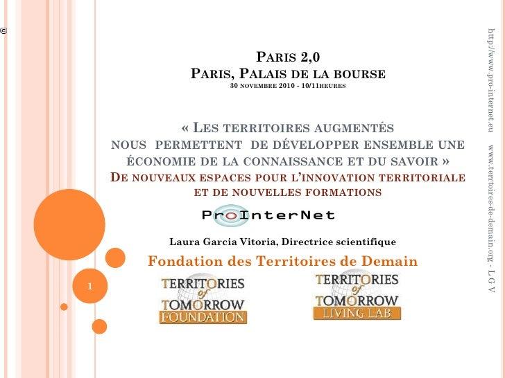http://www.pro-internet.eu                              PARIS 2,0                PARIS, PALAIS DE LA BOURSE               ...