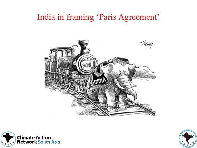 India in framing 'Paris Agreement'