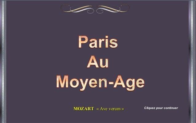 MOZART « Ave verum »   Cliquez pour continuer