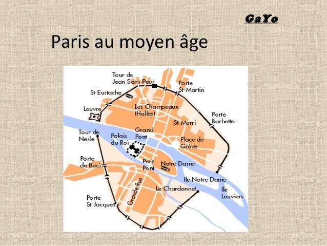 Paris au moyen âge GaYo