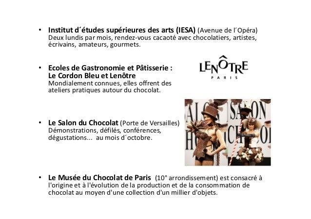 • Extrait DVD : La Maison du Chocolat   Maison fondée en 1977, rue François 1er.   Laurence Sourza nous invite à découvrir...