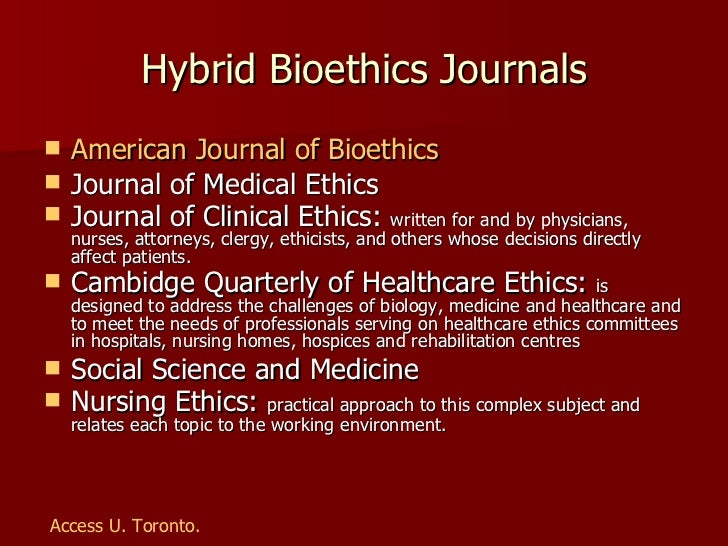 bioethics essay competition