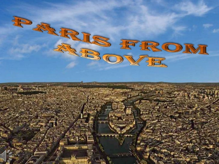 Paris from Above<br />