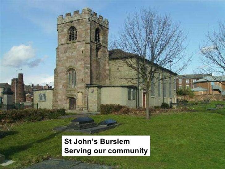 St John's Burslem Serving our community