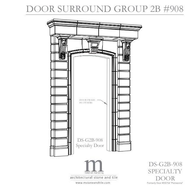 Parisienne door surround case study