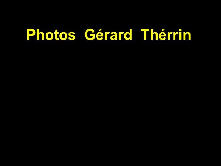 Photos  Gérard  Thérrin