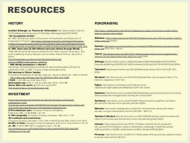 RESOURCES  HISTORY  Aurelien Belanger, La Theorie de l'Information http://www.amazon.fr/La-th  %C3%A9orie-linformation-Aur...