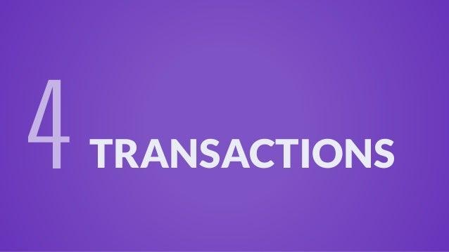 TRANSACTIONS 4