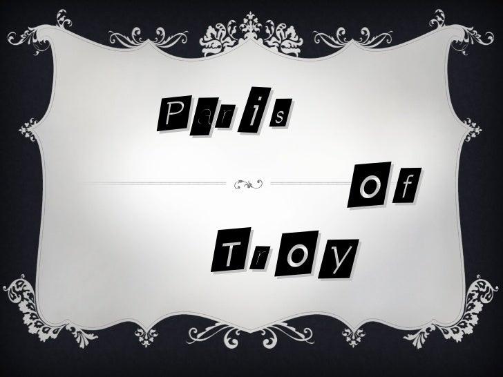 Paris     of    Troy