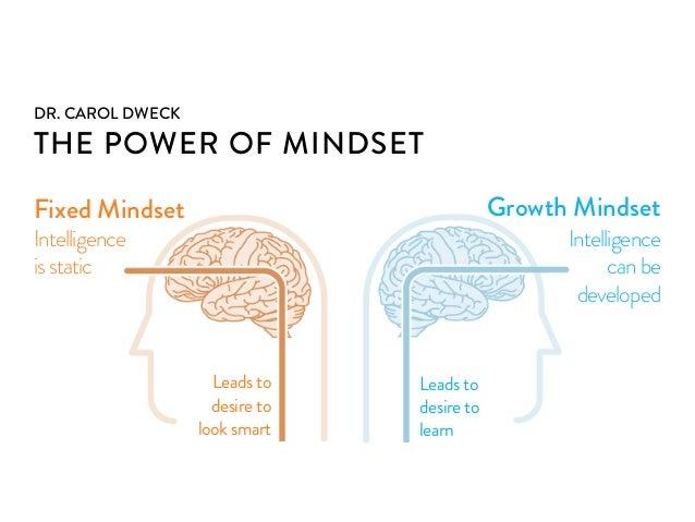 Dr dweck mindset