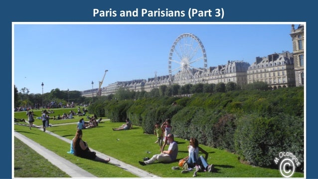 Paris and Parisians (Part 3)