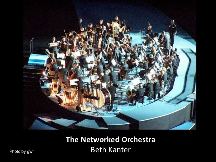 The Networked Orchestra<br />Beth Kanter<br />Photo by gwf<br />