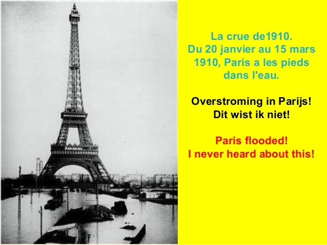 La crue de1910. Du 20 janvier au 15 mars 1910, Paris a les pieds dans l'eau. Overstroming in Parijs! Dit wist ik niet! Par...