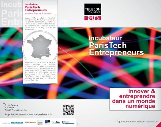Incubateur ParisTech Entrepreneurs