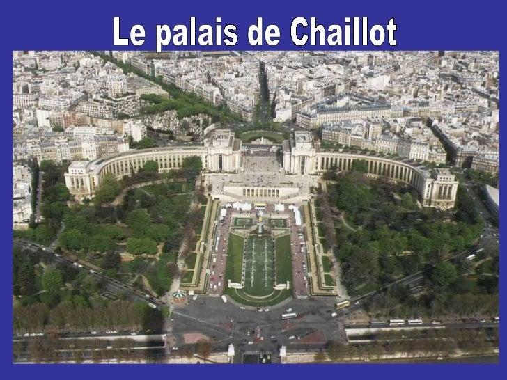 Le palais de Chaillot