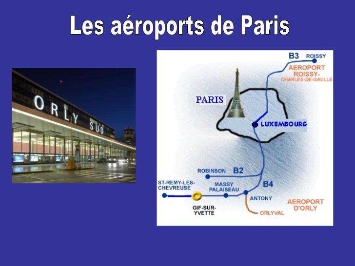 Les aéroports de Paris