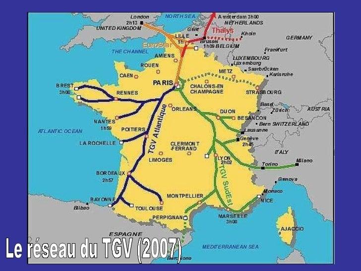 Le réseau du TGV (2007)