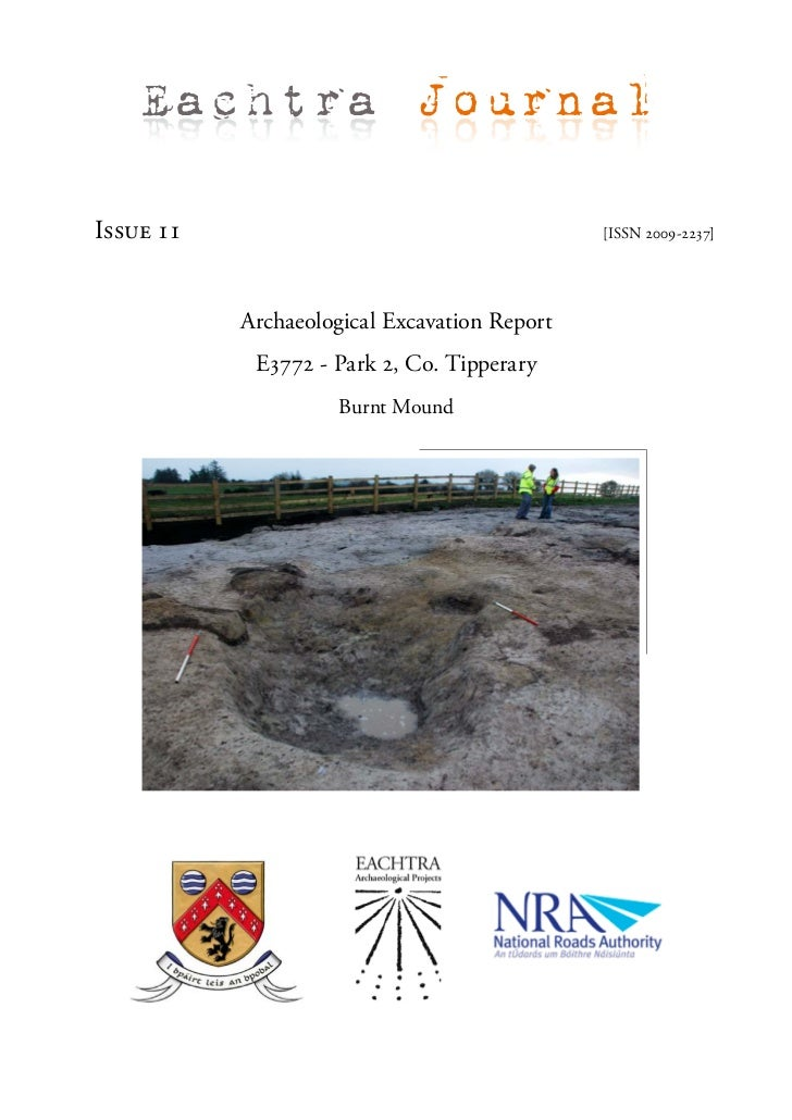 Eachtra JournalIssue 11                                      [ISSN 2009-2237]           Archaeological Excavation Report  ...