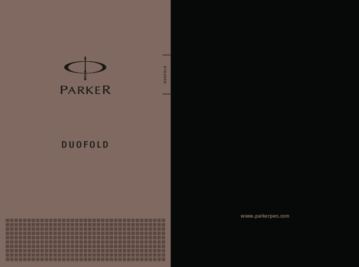 Parker catalogue 2012