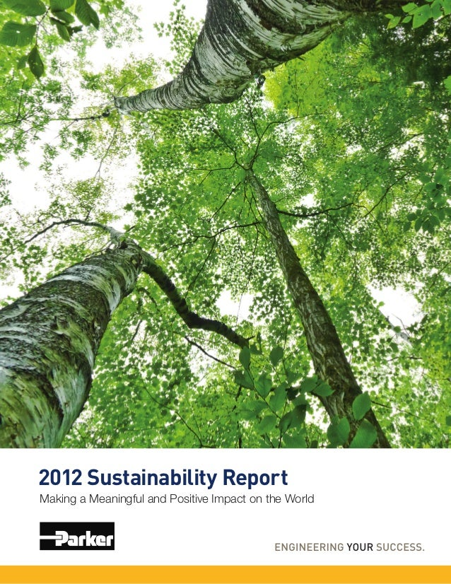 2012 Sustainability ReportMaking a Meaningful and Positive Impact on the World