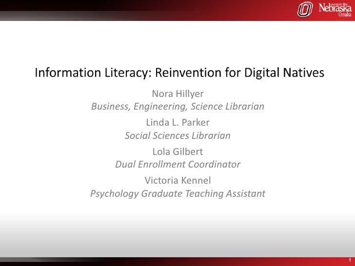 Nora HillyerBusiness, Engineering, Science Librarian            Linda L. Parker       Social Sciences Librarian           ...