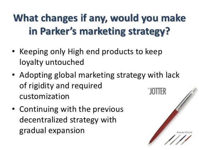 parker pen company essay Parker pen history - pens - making a better pen was what the parker pen company's founder, george safford parker, set out to do when he couldn't.