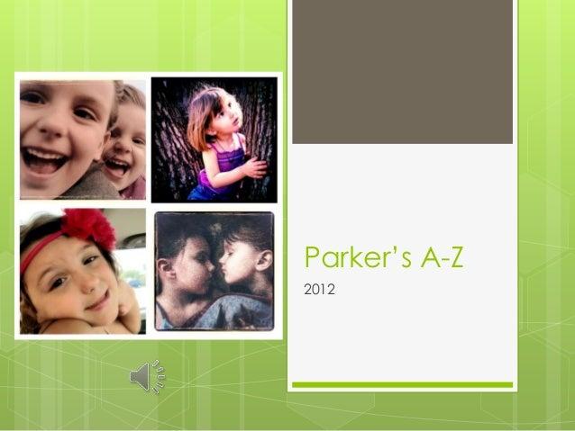 Parker's A-Z2012